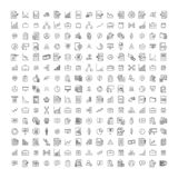 Set of premium management icons in line style. vector illustration