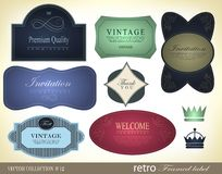 Set of Premium Quality and Guarantee Labels Royalty Free Stock Images