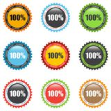 Set of premium quality labels. Vector illustration eps 10 vector illustration