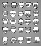Set of Premium Vintage labels or badges. Royalty Free Stock Photography