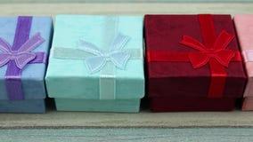 Set prezentów pudełka zbiory