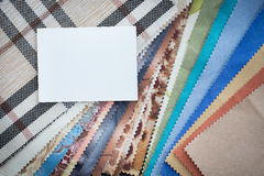Set of probes fabrics Royalty Free Stock Photo