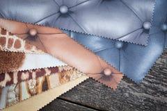 Set of probes fabrics Stock Image