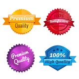 Set of product offer emblems Stock Images