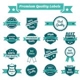 Set of product price tags Royalty Free Stock Photo