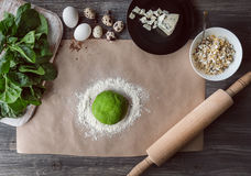 Set of products for cooking Royalty Free Stock Photo