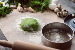 Set of products for cooking Stock Photo