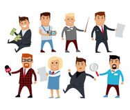 Set of Profession Specialists Characters Vector. Stock Photo