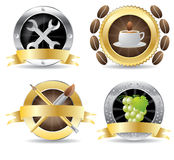 Set of professional icon vector Royalty Free Stock Photo