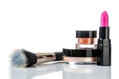 Set of professional makeup Stock Images