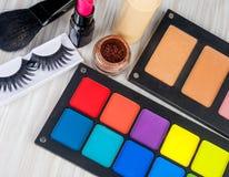 Set of professional makeup Royalty Free Stock Image