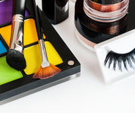 Set of professional makeup Royalty Free Stock Images