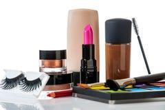 Set of professional makeup Stock Photos