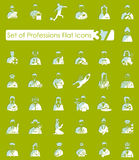 Set of professions icons Stock Photo