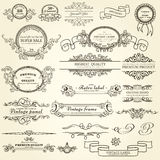 Set projektów elementy Obrazy Stock