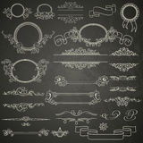 Set projektów elementy Obrazy Royalty Free