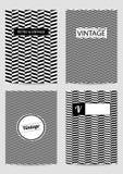 Set projektów szablony dla broszurek royalty ilustracja