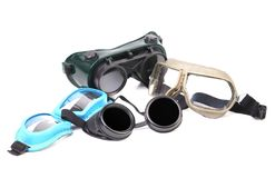 Set of protective glasses. Stock Image