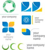 Set of prototype logos Royalty Free Stock Photo