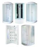 Set prysznic kabinki Zdjęcie Stock