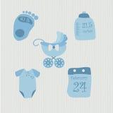 Set przedmioty dla dziecka Obrazy Royalty Free