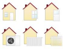 Domowe ikony (1) Zdjęcia Stock