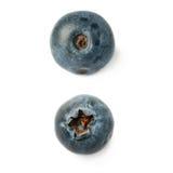 Set Przerzedzałam jagoda borówka lub czarna jagoda nad odosobnionym białym tłem obrazy stock