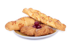 Set of puff pastry Stock Image