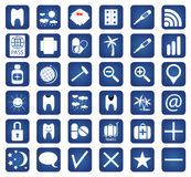 Set of 36 Quality icon. Vector for you design Stock Images