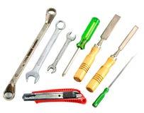 Set różni narzędzia Zdjęcie Stock