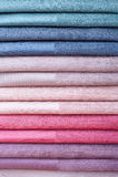 Set kolor tkaniny Zdjęcie Stock