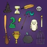 Set różny wicth wyposażenie Fotografia Stock