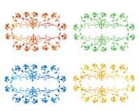 Set róże Zdjęcia Stock