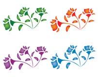 Set róże Zdjęcie Stock