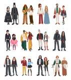 Set różna subkultura ilustracji