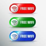 Set różne wifi ikony dla projekta Zdjęcia Royalty Free