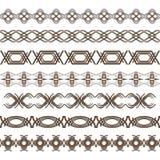 Set rabatowe linie Obraz Stock