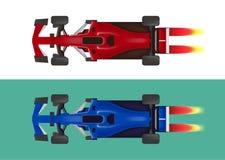 Set of racing cars, formula 1. Vector illustration vector illustration