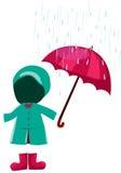 Set of rain clothes Stock Photography