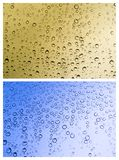 Set of rain drops Stock Image