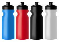 Set realistic sports water bottles Stock Photo