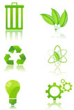 Set of recycle icons Stock Photography