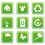 Set of recycle icons Stock Image