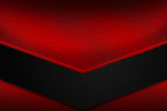 Set 9. red and black metal background. Set 9. red and black chrome carbon fiber. metal background and texture. 3d illustration Stock Photo