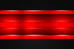 Set 9. red and black metal background. Set 9. red and black chrome carbon fiber. metal background and texture. 3d illustration Stock Photography