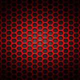 Set 8 red carbon fiber mesh on gray metal plate. Set 8. red carbon fiber mesh on gray metal plate. background and texture. 3d illustration Royalty Free Stock Photo