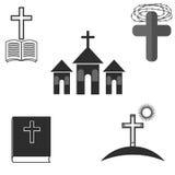 Set of Religion Icons stock illustration