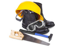 Set of repair accessories Stock Images