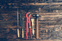 Set of repairing tools Royalty Free Stock Images