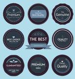 Set of Retro Badges Royalty Free Stock Photos